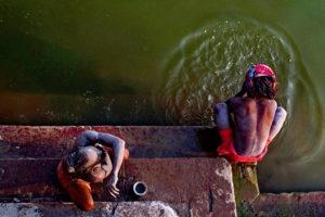 Ganga Bathers